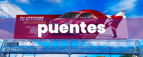 publicidad en puentes peatonales en mexico